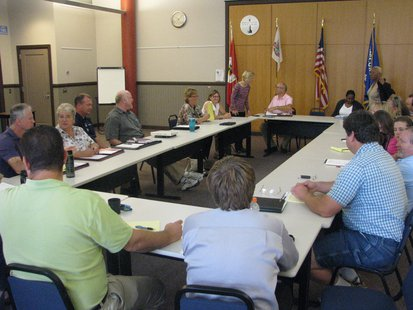 Transportation providers from around Wisconsin meeting in Stevens Point 9/9/13 to discuss problems with Medicaid broker MTM.