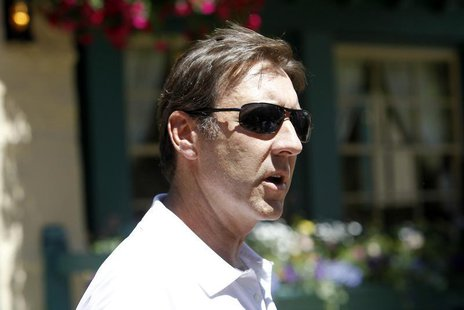 George Bodenheimer is seen at the Sun Valley Inn in Sun Valley, Idaho July 7, 2010. REUTERS/Mario Anzuoni