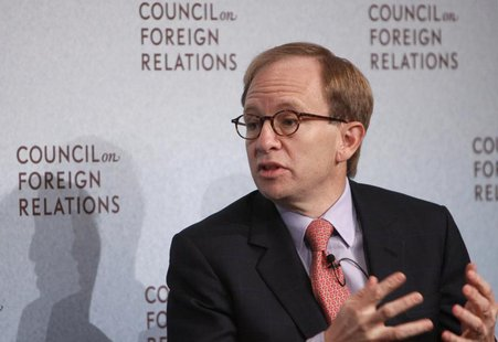 Steven Rattner, Former Head of U.S. Treasury Department's Auto Task Force, speaks at the Council on Foreign Relations in New York, November