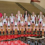 2013 Coldwater Girls Varsity Volleyball team