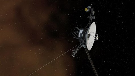 This undated artist's concept depicts NASA's Voyager 1 spacecraft entering interstellar space, or the space between stars. REUTERS/NASA/JPL-