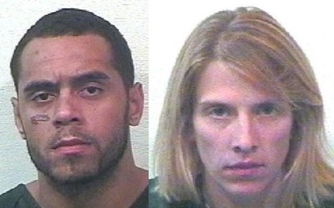 David (L) and Lori Ann Evans (photos courtesy Van Buren Co. Sheriff's Dept.)