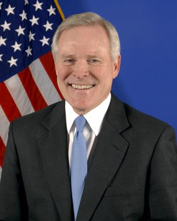 U.S. Navy Secretary Ray Mabus (Photo by: United States Navy).