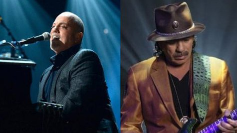 Image courtesy of Facaebook.com/BillyJoel; Santana.com (via ABC News Radio)