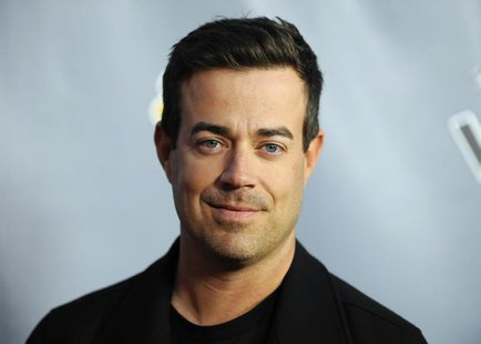 "Television personality and ""The Voice"" host Carson Daly arrives at the ""The Voice"" Season 4 premiere screening in Los Angeles, California Ma"