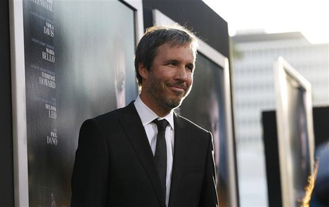 "Director of the movie Denis Villeneuve poses at the premiere of ""Prisoners"" at the Academy of Motion Picture Arts and Sciences in Beverly Hi"