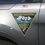 South Dakota Highway patrol vehicle logo copyright Midwest Communications, Inc.