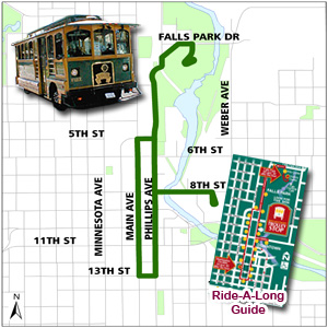 Effective Saturday, September 14, 2013, the Sioux  Falls Trolley will change to its off-season schedule. SF.gov