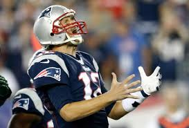 Tom Brady frustrated with receivers during last nights 13-10 win over the Jets.