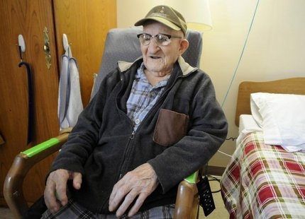 Salustiano Sanchez, 112, the world's oldest man according to Guinness World Records, resides in a retirement home on Grand Island, New York,