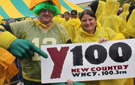 Win Over Washington :: Y100 Tailgate at Brett Favre's Steakhouse 2