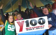 Win Over Washington :: Y100 Tailgate at Brett Favre's Steakhouse 1