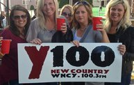 Montgomery Gentry in Fond du Lac with Y100 2