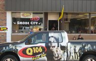 Q106 at Smoke City (9-10-13) 14