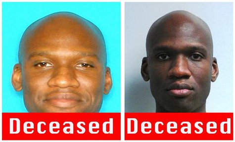 A combination photo shows Aaron Alexis, who the FBI believe to be responsible for the shootings at the Washington Navy Yard in the Southeast