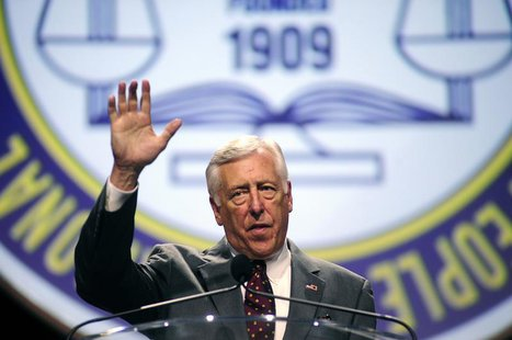 U.S. Congressman Steny Hoyer (D-MD) speaks to the 2013 National Association for the Advancement of Colored People (NAACP) convention in Orla