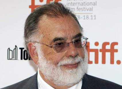 "Director Francis Ford Coppola arrives on the red carpet for ""Twixt"" during the 36th Toronto International Film Festival (TIFF) in Toronto Se"