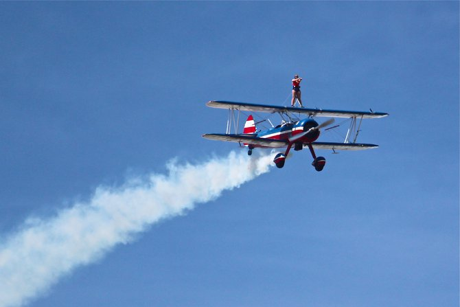 Wing Walking at EAA