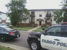 Scene of a shooting death in Fargo