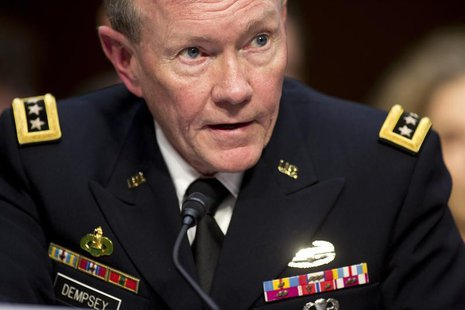 General Martin E. Dempsey, chairman of the Joint Chiefs of Staff, presents the administration's case for U.S. military action against Syria