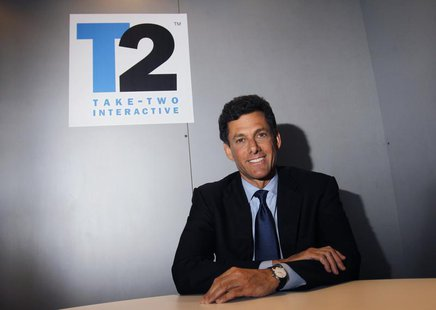 Take-Two Interactive Software Inc. CEO Strauss Zelnick poses for a portrait during the Electronic Entertainment Expo or E3 in Los Angeles Ju