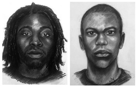 A combination of sketches issued by the Clayton County Police Department near Atlanta, Georgia September 17, 2013 show suspects in the abduc