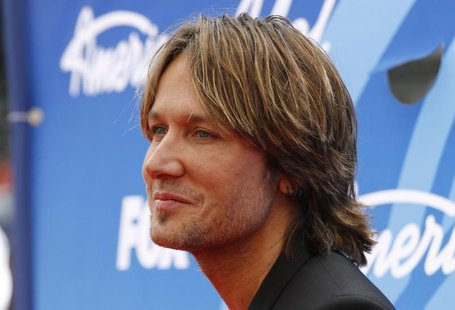 "American Idol judge and country music star Keith Urban arrives at the Season 12 finale of ""American Idol"" in Los Angeles, Calfiornia May 16,"