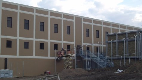 New Kalamazoo County Jail extension.