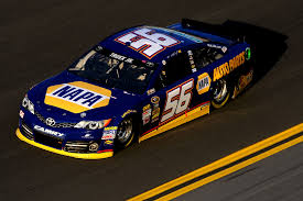 Martin Truex Jr's NAPA sponsored No. 56 Toyota.