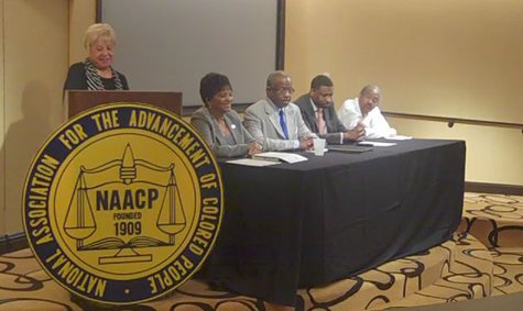 An Michigan NAACP press conference previewed the convention on Friday in Kalamazoo.