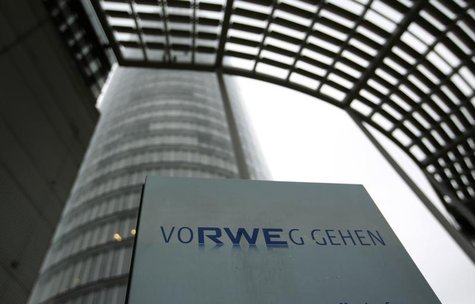 The headquarters of German power supplier RWE are pictured in the German town of Essen April 15, 2013. REUTERS/Ina Fassbender