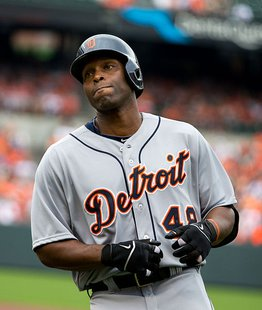 Tigers right fielder Torii Hunter. Photo by Keith Allison.
