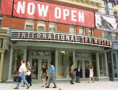 The International Spy Museum opens in Washington, July 19, 2002. REUTERS/Hyungwon Kang