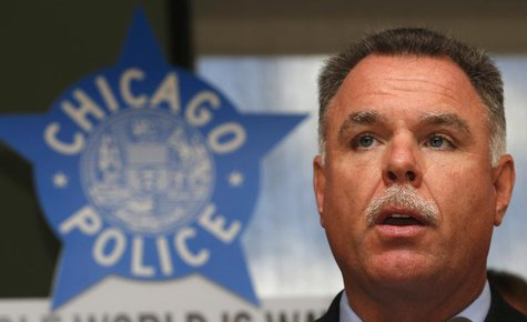 Chicago Police Superintendent Garry McCarthy speaks at a news conference in Chicago, Illinois September 3, 2013. REUTERS/Jim Young