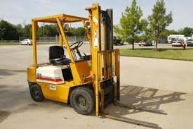 Picture of similar forklift that was stolen