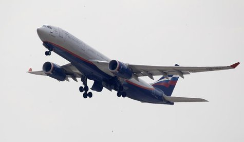 An Aeroflot Airbus A330 plane heading to the Cuban capital Havana takes off at Moscow's Sheremetyevo airport June 27, 2013. REUTERS/Sergei K