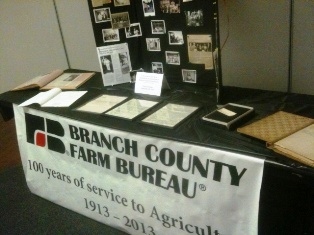 Branch County Farm Bureau Annual Meeting Monday, September 23, 2013