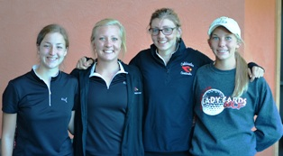 Coldwater Girls Golf 2013 SMAC East honorees
