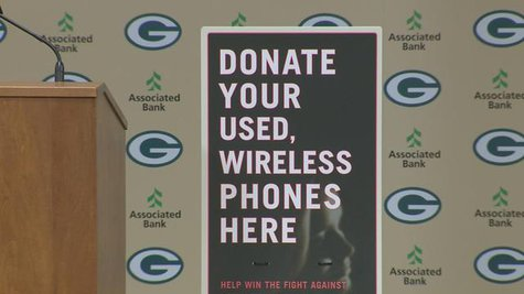 Verizon will donate $10 to Golden House in Green Bay for every phone collected at the Packers-Bears game on Monday, Nov. 4. (Photo by: FOX 11).