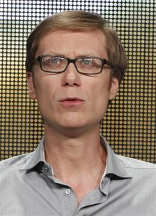 "Stephen Merchant, cast member, executive producer and director of HBO's series ""Hello Ladies"" takes part in a panel discussion at the Televi"