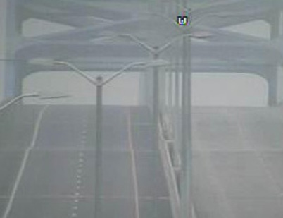 Leo Frigo Bridge as seen from a DOT traffic camera