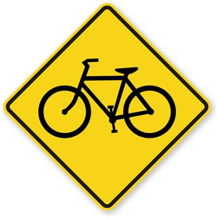 bike traffic sign