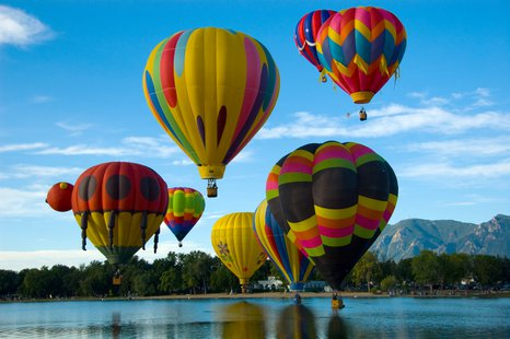 What hot air balloons might look like.