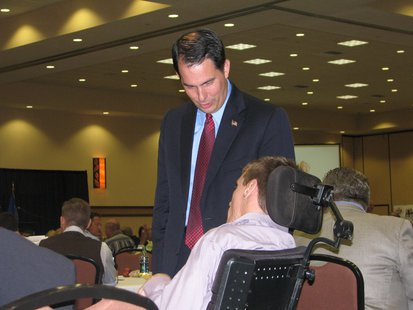 Gov. Scott Walker at Small Business Summit