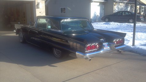 1960 Ford Thunderbird, stolen from a Weston, WI home.