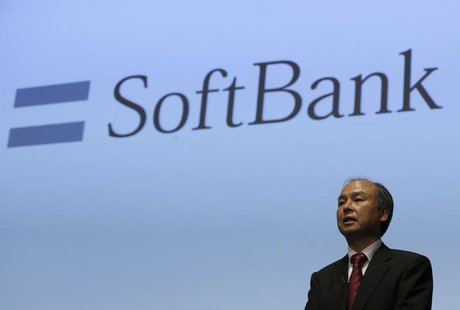Softbank Corp President Masayoshi Son speaks during a news conference in Tokyo July 30, 2013. REUTERS/Issei Kato