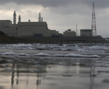 Tokyo Electric Power Co.'s (TEPCO) Kashiwazaki Kariwa nuclear power plant, which is the world's biggest, is seen from a seaside in Kashiwaza