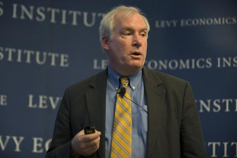 "The Federal Reserve Bank of Boston's President and CEO Eric S. Rosengren speaks during the ""Hyman P. Minsky Conference on the State of the U"