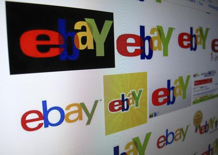 The results of a Google image search on Ebay are shown on a monitor in this photo illustration in Encinitas, California, April 16, 2013. REU