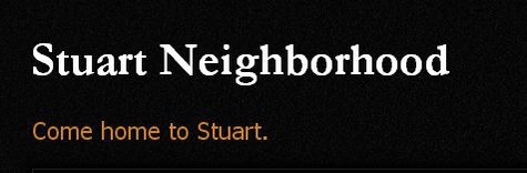 The Stuart Neighborhood Association
